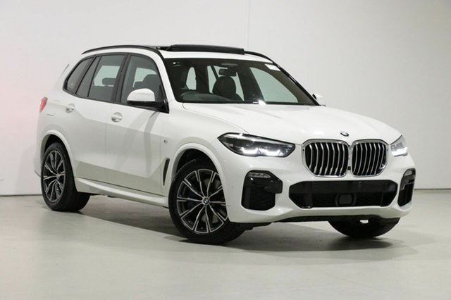 Used BMW X5 G05 xDrive 30D Bentley, 2019 BMW X5 G05 xDrive 30D White 8 Speed Auto Steptronic Sport Wagon