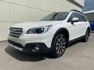2018 Subaru Outback B6A MY18 2.5i CVT AWD Premium White 7 Speed Constant Variable Wagon.