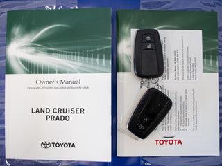 2018 Toyota Landcruiser Prado GDJ150R MY18 GXL (4x4) White 6 Speed Automatic Wagon