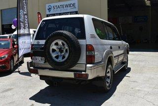 1998 Toyota Landcruiser Prado VZJ95R GXL (4x4) White 4 Speed Automatic 4x4 Wagon.