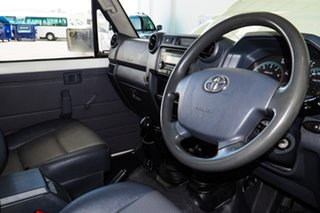 2017 Toyota Landcruiser LC70 VDJ79R MY17 Workmate (4x4) French Vanilla 5 Speed Manual Cab Chassis