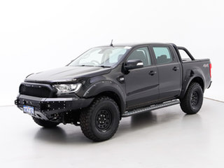 2017 Ford Ranger PX MkII MY18 XLT 3.2 (4x4) Black 6 Speed Automatic Double Cab Pick Up.