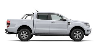 2021 Ford Ranger PX MkIII 2021.25MY XLT Arctic White 6 Speed Manual Double Cab Pick Up
