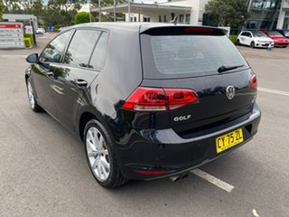 2016 Volkswagen Golf VII MY16 110TSI DSG Highline Black 7 Speed Sports Automatic Dual Clutch