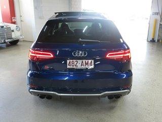 2016 Audi S3 8V MY17 Sportback S Tronic Quattro Blue 7 Speed Sports Automatic Dual Clutch Hatchback
