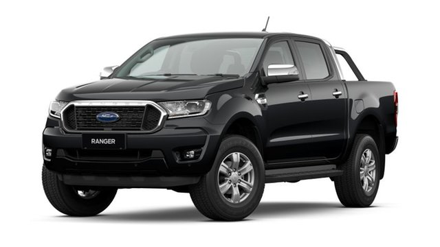 New Ford Ranger PX MkIII 2021.25MY XLT Homebush, 2020 Ford Ranger PX MkIII 2021.25MY XLT Shadow Black 10 Speed Sports Automatic Double Cab Pick Up