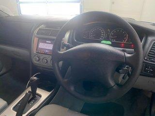 2005 Mitsubishi Magna TW Series II ES Silver 4 Speed Auto Sports Mode Sedan