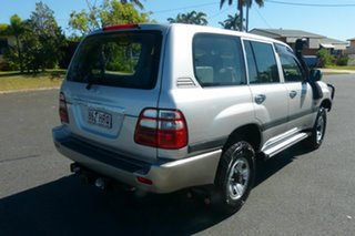 2004 Toyota Landcruiser HDJ100R GXL Silver 5 Speed Manual Wagon