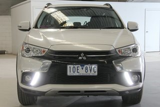 2018 Mitsubishi ASX XC MY19 ES ADAS ( 2WD) White Continuous Variable Wagon