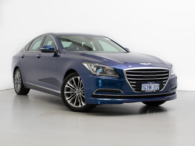 Used Hyundai Genesis DH , 2014 Hyundai Genesis DH Blue 8 Speed Automatic Sedan
