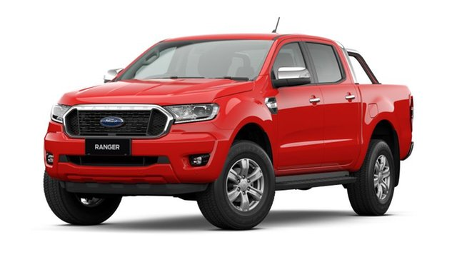 New Ford Ranger XLT Totness, 2021 Ford Ranger PX MKIII 2021.2 XLT True Red 6 Speed SMD Double Cab Pick Up