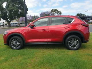2017 Mazda CX-5 KF2W7A Maxx SKYACTIV-Drive FWD Sport Soul Red Crystal 6 Speed Sports Automatic Wagon