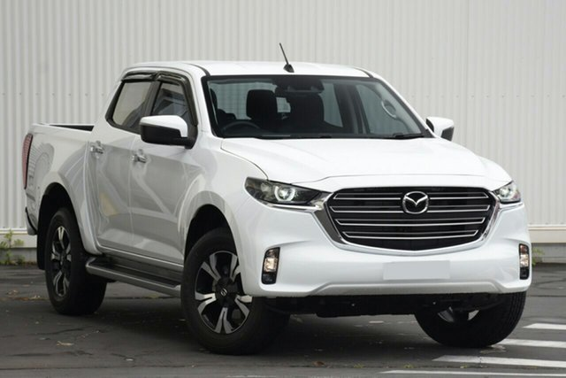 New Mazda BT-50 TFS40J XTR Paradise, 2021 Mazda BT-50 TFS40J XTR Ice White 6 Speed Sports Automatic Utility
