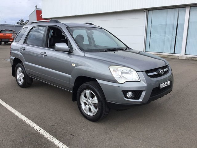Used Kia Sportage KM2 MY10 LX Cardiff, 2009 Kia Sportage KM2 MY10 LX Grey 5 Speed Manual Wagon