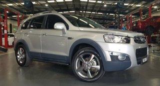 2012 Holden Captiva CG Series II 7 AWD LX Silver 6 Speed Sports Automatic Wagon.