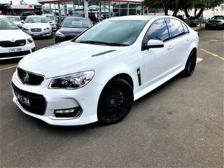 2017 Holden Commodore VF II MY17 SS White 6 Speed Sports Automatic Sedan.