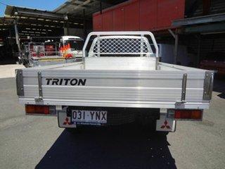 2014 Mitsubishi Triton MN MY15 GL White 5 Speed Manual Cab Chassis