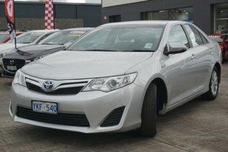 2014 Toyota Camry AVV50R Hybrid H Silver 1 Speed Constant Variable Sedan Hybrid.