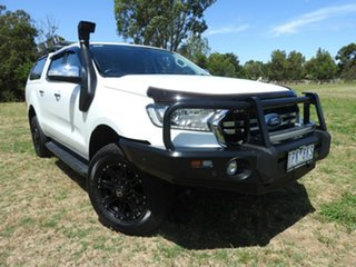 Ford Ranger XLT White 6 Speed Automatic Dual Cab.