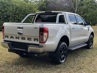 2018 Ford Ranger PX MkII MY18 XLT 3.2 (4x4) Silver 6 Speed Automatic Double Cab Pick Up.