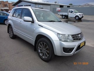 2015 Suzuki Grand Vitara JT MY15 Navigator (4x2) Silver 4 Speed Automatic Wagon.