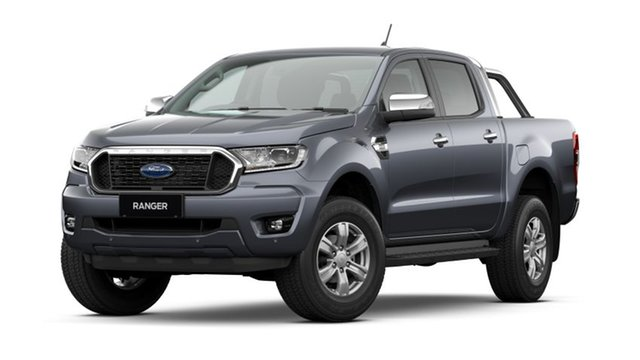 New Ford Ranger PX MkIII 2021.25MY XLT Hobart, 2021 Ford Ranger PX MkIII 2021.25MY XLT Meteor Grey 6 Speed Sports Automatic Double Cab Pick Up