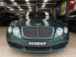 2004 Bentley Continental 3W GT Green Sports Automatic Coupe.