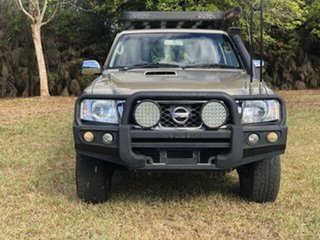 2011 Nissan Patrol GU VII ST (4x4) Gold 5 Speed Manual Wagon
