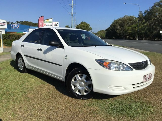 Used Toyota Camry ACV36R Altise Caloundra, 2004 Toyota Camry ACV36R Altise Diamond White 4 Speed Automatic Sedan