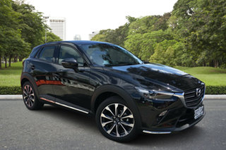 2020 Mazda CX-3 DK2W7A sTouring SKYACTIV-Drive FWD Jet Black 6 Speed Sports Automatic Wagon.