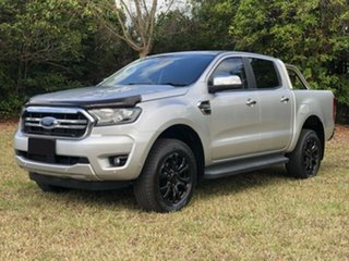 2018 Ford Ranger PX MkII MY18 XLT 3.2 (4x4) Silver 6 Speed Automatic Double Cab Pick Up