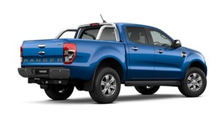 2021 Ford Ranger PX MkIII 2021.25MY XLT Blue Lightning 10 Speed Sports Automatic Double Cab Pick Up