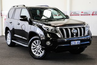 2016 Toyota Landcruiser Prado GDJ150R MY16 Kakadu (4x4) Eclipse Black 6 Speed Automatic Wagon.