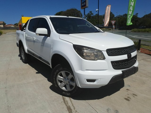 Used Holden Colorado RG MY16 LS Springwood, 2016 Holden Colorado RG MY16 LS White 6 Speed Auto Active Select Dual Cab