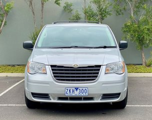 2008 Chrysler Grand Voyager RT 5th Gen MY08 LX Silver 6 Speed Automatic Wagon.