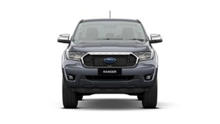 2020 Ford Ranger PX MkIII 2021.25MY XLT Meteor Grey 10 Speed Sports Automatic Double Cab Pick Up.