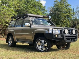 2011 Nissan Patrol GU VII ST (4x4) Gold 5 Speed Manual Wagon.