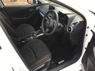 2020 Mazda 2 DL2SAA G15 SKYACTIV-Drive Pure White Pearl 6 Speed Sports Automatic Sedan