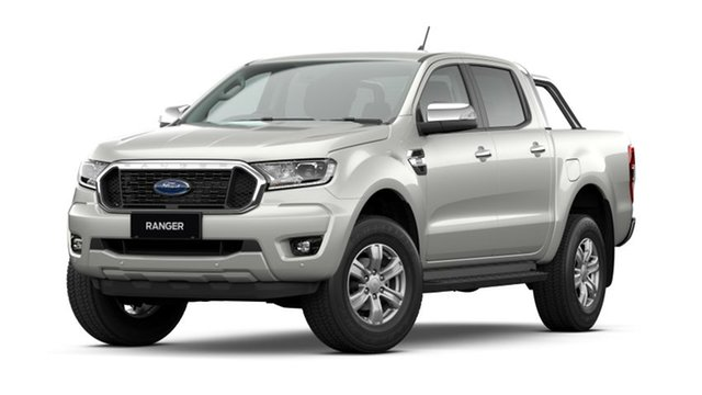 New Ford Ranger PX MkIII 2021.25MY XLT Hamilton, 2021 Ford Ranger PX MkIII 2021.25MY XLT Alabaster White 6 Speed Sports Automatic Double Cab Pick Up