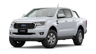 2020 Ford Ranger PX MkIII 2021.25MY XLT Arctic White 6 Speed Manual Double Cab Pick Up