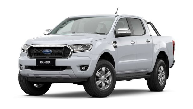 New Ford Ranger PX MkIII 2021.25MY XLT Hamilton, 2021 Ford Ranger PX MkIII 2021.25MY XLT Arctic White 10 Speed Sports Automatic Double Cab Pick Up