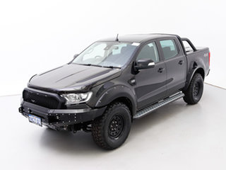 2017 Ford Ranger PX MkII MY18 XLT 3.2 (4x4) Black 6 Speed Automatic Double Cab Pick Up