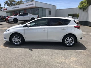 2017 Toyota Corolla ZRE182R Ascent Sport White 6 Speed Manual Hatchback