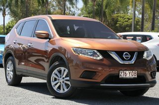 2015 Nissan X-Trail T32 ST X-tronic 2WD Orange 7 Speed Constant Variable Wagon.