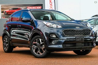 2020 Kia Sportage QL MY21 SX 2WD Blue 6 Speed Sports Automatic Wagon.