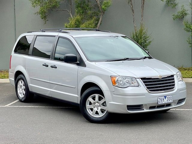 Used Chrysler Grand Voyager RT 5th Gen MY08 LX Templestowe, 2008 Chrysler Grand Voyager RT 5th Gen MY08 LX Silver 6 Speed Automatic Wagon