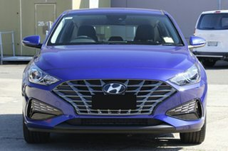 2020 Hyundai i30 PD.V4 MY21 Active Intense Blue 6 Speed Sports Automatic Hatchback