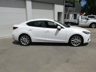 2018 Mazda 3 BN5238 SP25 SKYACTIV-Drive GT White 6 Speed Sports Automatic Sedan.