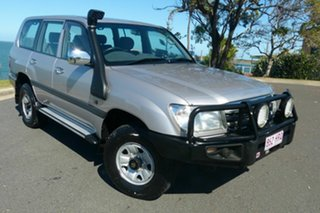 2004 Toyota Landcruiser HDJ100R GXL Silver 5 Speed Manual Wagon.