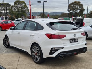 2020 Kia Cerato BD MY20 GT DCT Clear White 7 Speed Sports Automatic Dual Clutch Hatchback.